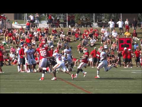 Kansas City Chiefs Training Camp Video: 8-1-2013