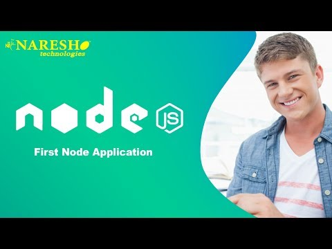 Node.JS Tutorial | First Node Application| NodeJS Tutorials for Beginners
