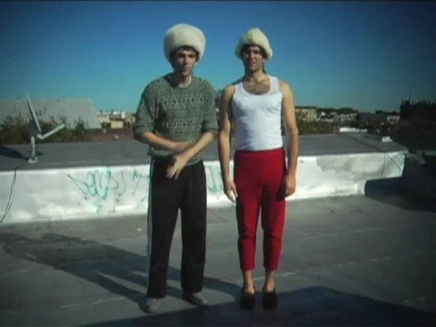 vlad and friend boris presents 'Song for Sarah' for mrs. Palin