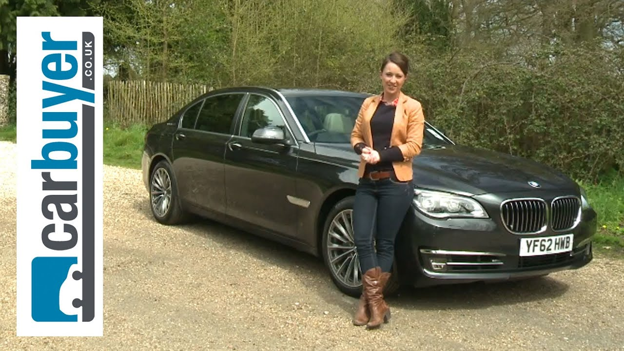 BMW 7 Series saloon 2013 review - CarBuyer - YouTube