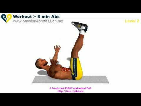 Abs workout how to have six pack - Level 2