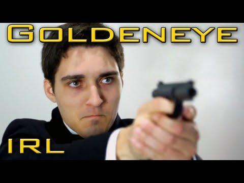 GOLDENEYE – Video Games in REAL Life