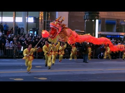 Chinese New Year Parade 2013 San Francisco (compilation)
