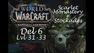 FEL DUNGEON!? | World of Warcraft Leveling Del 6 (svenska)