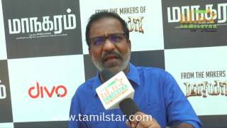 Charle At Maanagaram Movie Press Meet