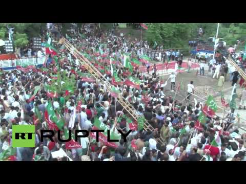 Pakistan: Opposition leader Imran Khan vows protests will go on until PM quits
