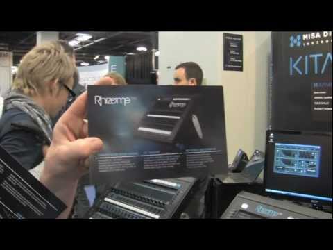 Sweetwater at Winter NAMM 2012 - Feeltune Rhizome SXE Video Overview