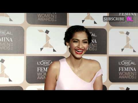 Sonam Kapoor at Loreal Paris Femina Women Awards 2015