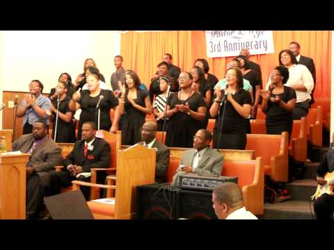 Solid Rock M.B. Church and Harvest Time Christian Church Choirs - 09/17/2012