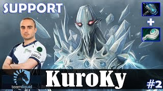 KuroKy - Ancient Apparition Roaming | SUPPORT | Dota 2 Pro MMR Gameplay #2
