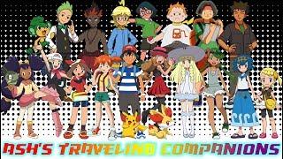 Ash's Traveling Companions