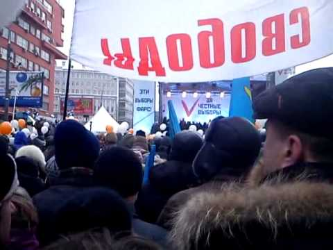 Ксению Собчак освистали на митинге