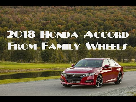 2018 Honda Accord review from Family Wheels