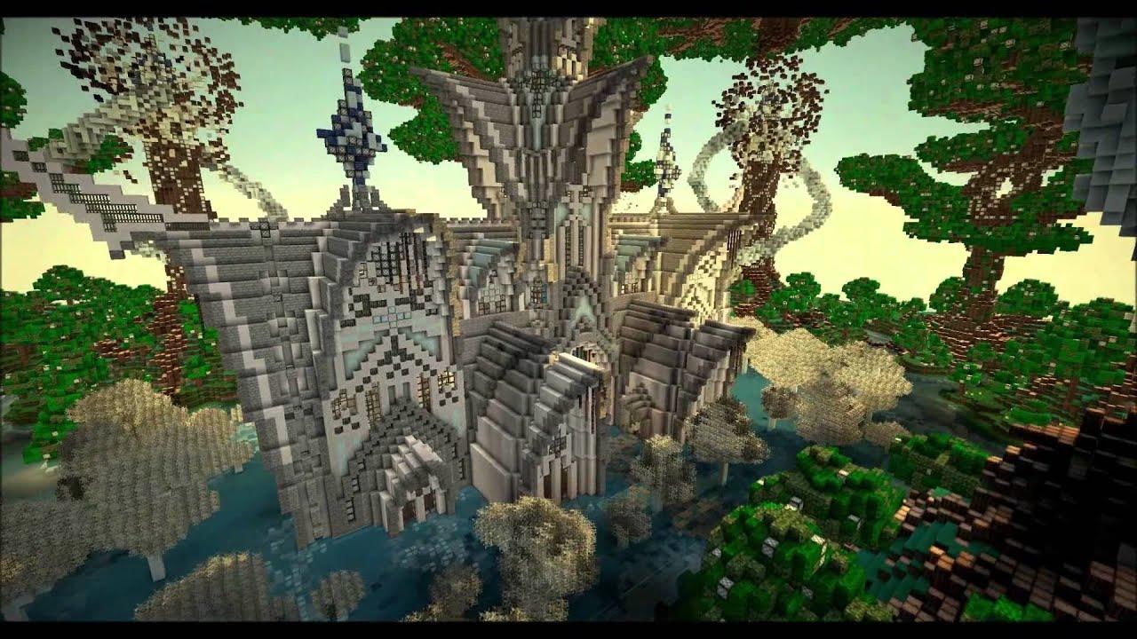 Minecraft Cinematic Fantasia Forest Youtube