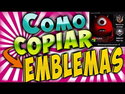 Copiar Emblemas BO2 [Tutorial]