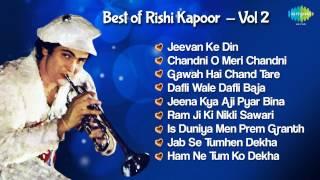 Rishi Kapoor Hit Songs - Superhit Hindi Songs Jukebox - Chandni O Meri Chandni & More Hits