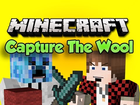 Minecraft: CAPTURE THE WOOL! vs BajanCanadian, xRPMx13, TBNRFrags, NoochM & PeteZahHutt
