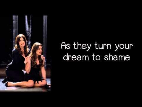 Glee - I Dreamed A Dream (Lyrics) HD