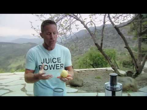 Jason Vale talking about the Philips Juicer