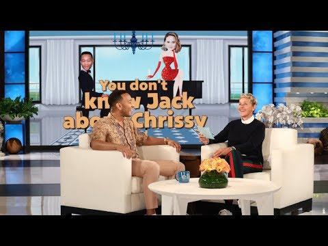 John Legend Doesn't Know Jack About Chrissy Teigen