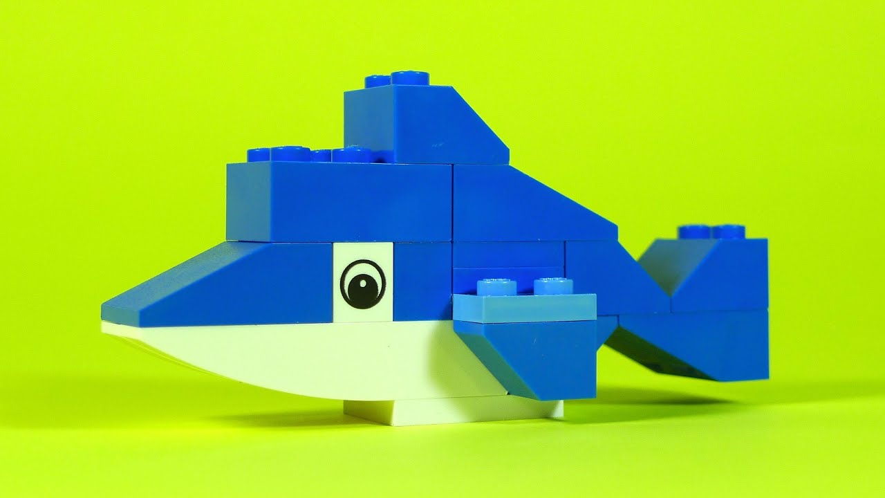 How To Build Lego SHARK - 4630 LEGO® Build & Play Box Building ...