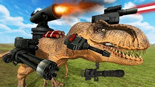 ULTIMATE T-REX ATTACK!! (Beast Battle Simulator)