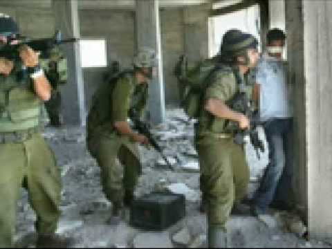 Israeli army using Palestinian children as Human Shields