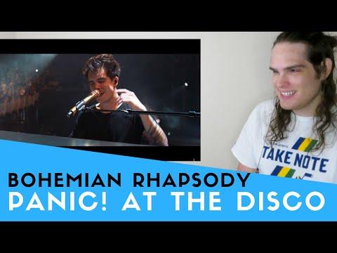Voice Teacher Reacts to Panic! At The Disco - Bohemian Rhapsody