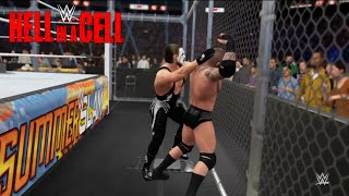 WWE-2K16 -Randy Orton vs. Sting - Hell In A Cell Match:Summerslam 2016 WWE-2K16(PS4)