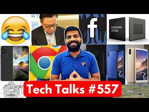 Tech Talks #557 - World Emoji Day, Xiaomi Mi A2, Mi Max 3, UK SpacePort, LPDDR5 RAM, ITel A62