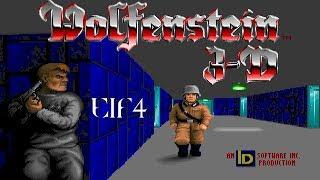 Wolfenstein 3D (DOS) Episode 1: Escape From Wolfenstein - Floor 4