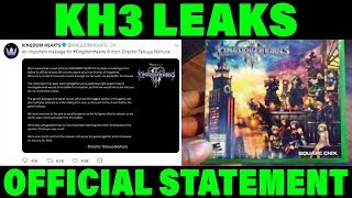 Important Message From Kingdom Hearts 3 Director About STOLEN Kingdom Hearts 3 Early Copies