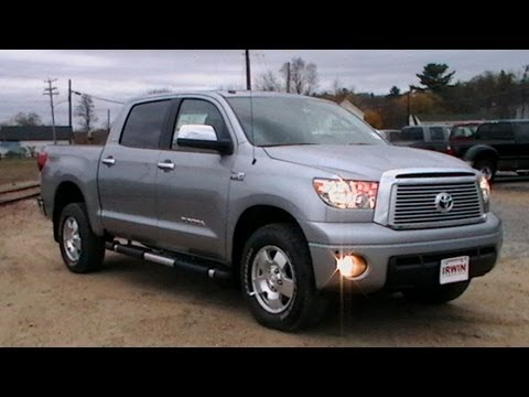 2010 Toyota Tundra Crewmax 2012 TOYOTA TUNDRA CREWMAX LIMITED REVIEW SUNROOF WWW ...