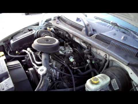 on 1991 Dodge Dakota 5 2 V8