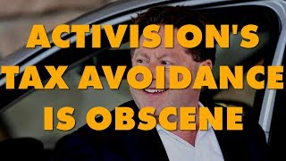 Corporate Parasites: Activision Pays Zero Income Tax, Gets A Refund Anyway