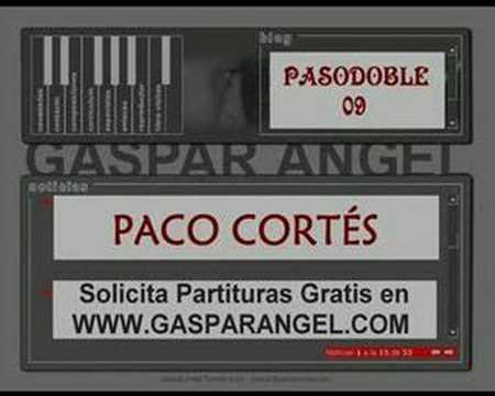 Pasodoble 09. PACO CORTÉS