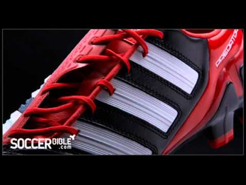 OFFICIAL  RELEASE adidas adipower Predator Football Boots - Black/White/Red