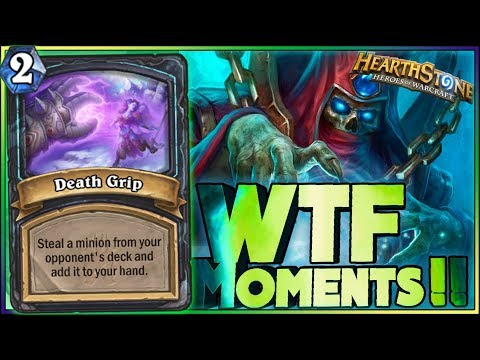 Hearthstone - WTF Moments - Kobolds and Catacombs - Funny Rng Moments