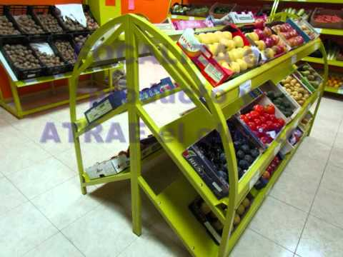 Mobiliario fruter a youtube for Muebles de fruteria
