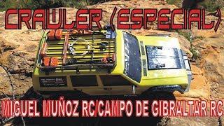 CRAWLER ESPECIAL CON MIGUEL MUÑOZ RC Y CAMPO DEL ESTRECHO RC