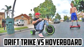 DRIFT TRIKE IN THE RAIN!