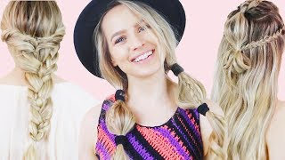 4 Summer Vacation Hairstyles Hair Tutorial- KayleyMelissa