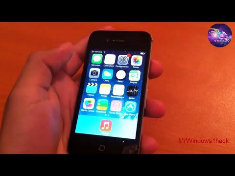 Saltar Registro iOS (ID iCloud) 7.0.3 iPhone 4/4s/5