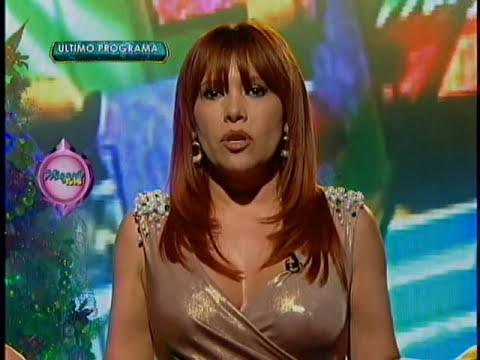 Magaly Medina Llora , Ultimo programa de  Magaly Teve