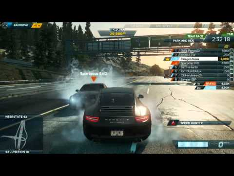 Need For Speed Most Wanted: RANDOM MOMENTS MONTAGE #1