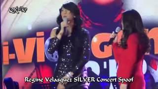VICE GANDA Spoofs REGINE VELASQUEZ Silver Concert (i-Vice Ganda Mo'ko