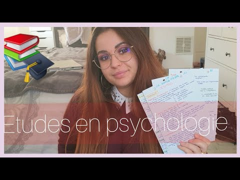 FAC DE PSYCHOLOGIE : Organisation, mon parcours, révisons...