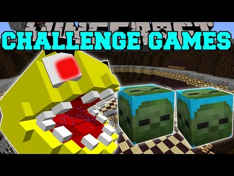 Minecraft: PACMAN CHALLENGE GAMES - Lucky Block Mod - Modded Mini-Game