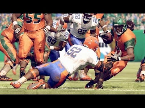 NCAA Football 12 Gameplay: Florida vs Georgia