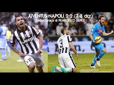 JUVENTUS-NAPOLI 7-8 ai rigori - Radiocronaca di Francesco Repice - Supercoppa Italiana 2014 (Radio1)